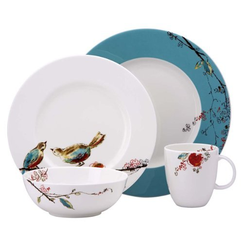 Lenox Simply Fine Chirp 16-piece Set, Service for 4