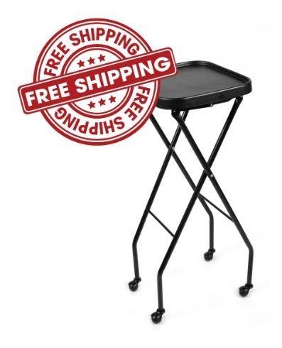 Beauty Furniture (Fold-A-Way Service Tray CALEB BLACK Beauty Salon Barber Shop Salon Furniture & Equipment)