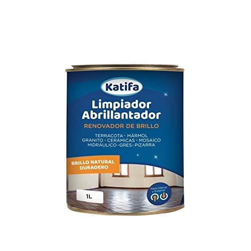 Katifa Limpiador abrillantador renovador de Brillo 1L.: Ideal para Suelos de Terracota, mármol, Granito, cerámicas…