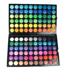 Paleta de maquillaje 120 Sombras de ojos en estuche colores ...