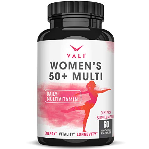 Women's 50+ Daily Multivitamin. Senior Multi Vitamin & Mineral Supplement for Healthy Women Over 50. Once Daily…