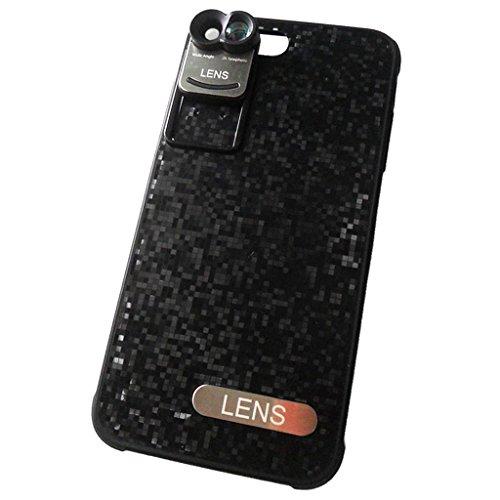 MagiDeal Caso Obiettivo Grandangolare Telefono Custoida Cover Per iPphone 7 Plus Cellulare