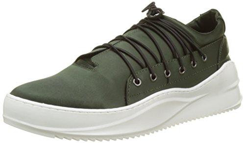 Bronx Damen BX 1471 Bspacex Sneaker Grün (Vintage Green 2137)
