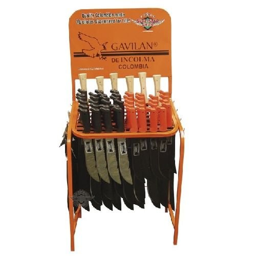 Image of 5ive Star Gear Display Board, Machete - Fixed Blade Hunting Knives