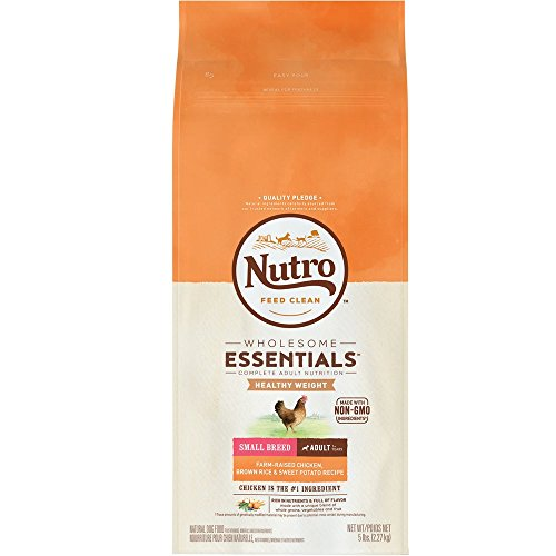Nutro NATURAL CHOICE Small Breed Weight Management Chicken Dry Dog Food, 4 lbs.