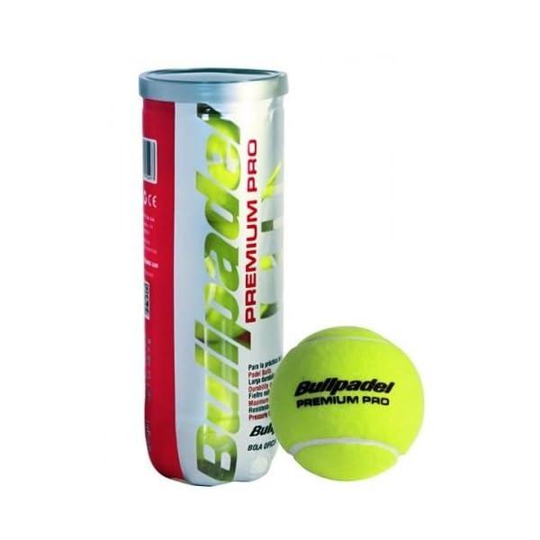 Bull Padel Premium PRO–Pentola di 3Palline da Tennis Bullpadel 2 spesavip