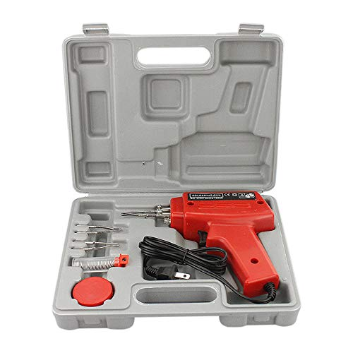 Thaisan7, 100W Soldering Gun Kit w/Case Iron Solder Professional Style Soldering,Repairing to from thaisan7