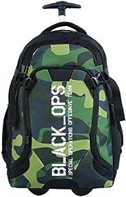 Mala Escolar GL c/rodinhas, DMW Bags, 11280, Colorido