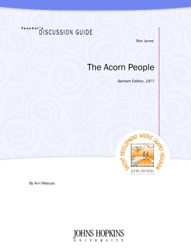 Teacher's Discussion Guide to The Acorn People