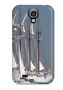 VKOLbeW858pCOtQ Case Cover Ship And Boats Galaxy S4 Protective Case