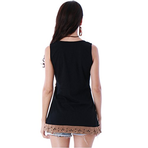 PANASIAM - Camisas - Túnica - para mujer negro