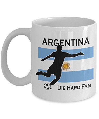 fee Mug   Argentina 2018 Mug   Argentina Soccer Team Mug ()