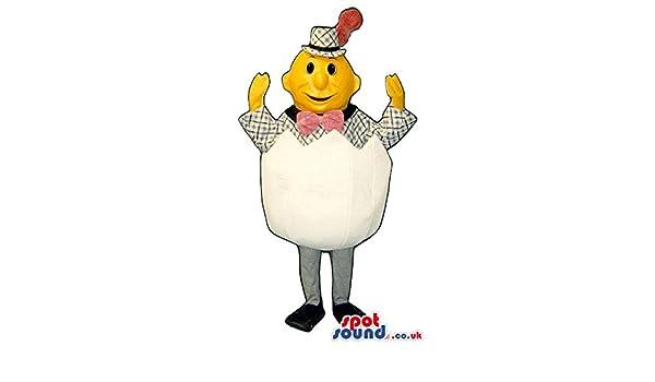 Hombre en un huevo de huevos de peluche mascota SpotSound nosotros ...