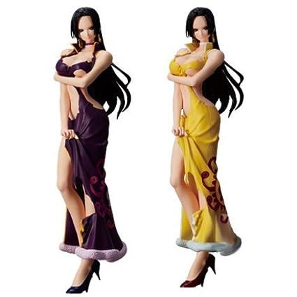 Purple Dress Ver. One Piece Glitter /& Glamours Boa Hancock Crash Style Figure