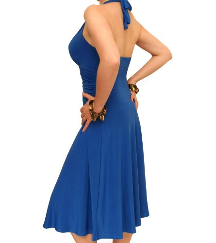 Blue Blue Banana Halter Dress Neck qwWg1S04