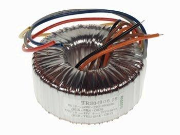 Electronics123.com, Inc. Toroidal Transformer 100VA 120 / 235V Input 2 x 25V Output