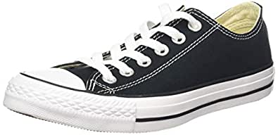 Converse Chuck Taylor All Star Sneakers, Unisex, Black : 35 EU / 3 US Men / 5 US Women
