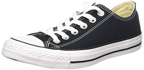 Converse Chuck Taylor All Star Ox Low Top Black Sneakers - 8 D(M) US from Converse