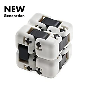 New Generation Infinity Cube / Infinity Cube Fidget Toy / Fidget Cube / Infinite Cube / Fidgeting Game for Kids Adults/ ADD ADHD OCD/ Stress Anxiety Relief/ Kill Time / Hand Fidget Spinner/ Office Toy