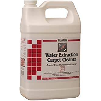 Franklin Cleaning Technology F534022 Water Extraction Carpet Cleaner, 1 Gallon (Pack of 4)