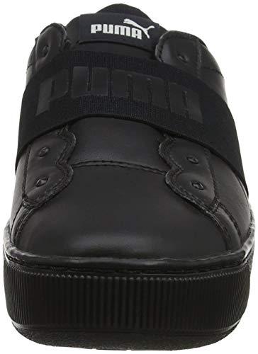 Vikky puma Scarpe 01 Black Ginnastica Nero Basse Puma Platform puma Elastic Black Donna Da HdaxHqSwP