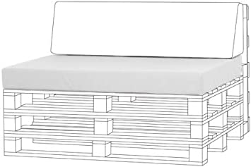 Bloque de espuma de asiento para palet muebles al estar sin ...