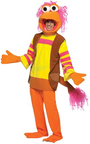 Fraggle Rock GoBo Costume - One Size - Chest Size 42-48 (Fraggle Costume)