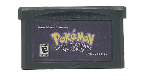 All gift pokemon in light platinum