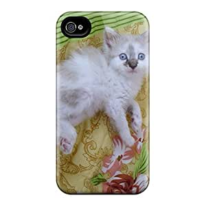 Iphone 4/4s Don't Look At Me Like That Print High Quality Tpu Gel Frame Case Cover