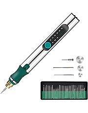 Elektrische Graveren Tool Kit USB Oplaadbare Mini DIY Micro Graveur Ets Pen Draadloze Rotary Tool voor Carving Glas Hout Metalen Steen Plastic Sieraden
