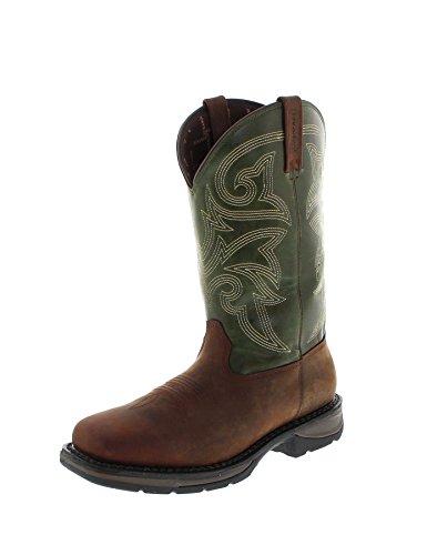FB Fashion BootsWestern Dwd039 - Stivali western Uomo Brown Green (Weite M)