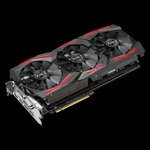 ASUS Carte Graphique AREZ-STRIX-RXVEGA56-O8G-GAMING OC /Édition, AMD Radeon VEGA56, 8Go M/émoire GDDR5