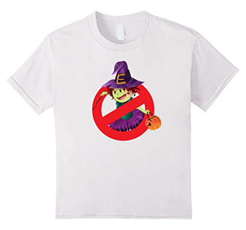 Kids Witch Hunter T-Shirt Emoji Halloween Group Costume Top Tee 12 White (Witch Hunter Costume For Girls)