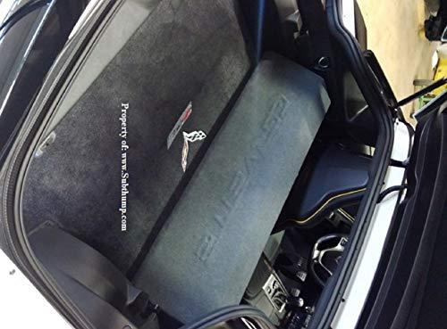 C7 Box - 20014-2019 C7 Corvette Dual 10 Downfire Subwoofer Box
