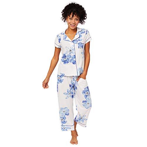 (The Cat's Pajamas Bora Bora Pima Knit Capri White )