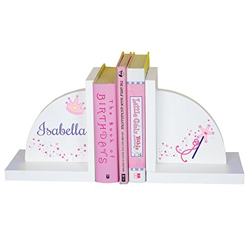 - MyBambino Girl's Personalized Fairy Princess Bookends