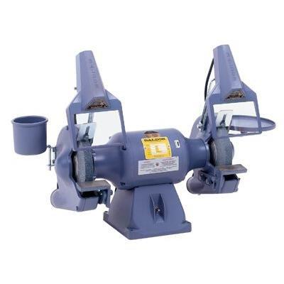 8'' Deluxe Industrial Grinders - 8'' industrial deluxe grinder w/3600 rpms by Baldor