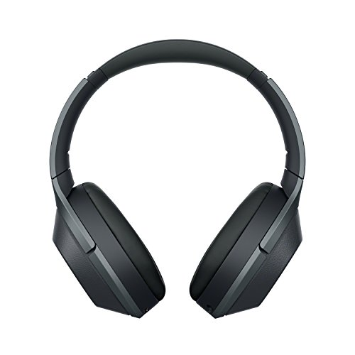 Sony Noise Cancelling Headphones WH1000XM2: Over Ear Wireless Bluetooth Headphones with Case - Black by Sony (Image #1)