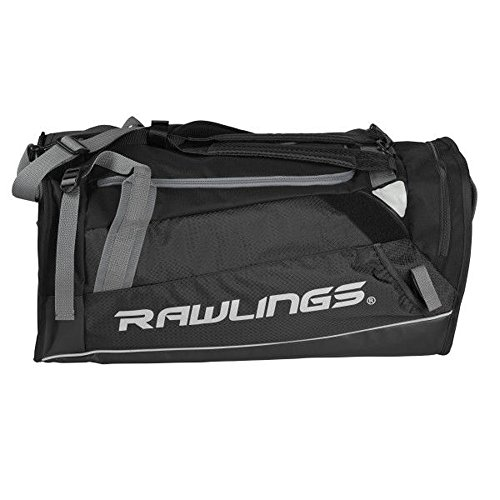 Rawlings Hybrid Duffel/Backpack Baseball/Softball Bag, -
