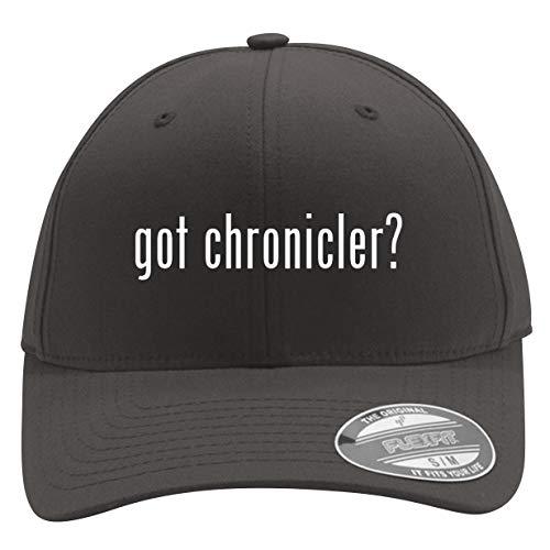 got Chronicler? - Men's Flexfit Baseball Cap Hat, Dark Grey, Small/Medium
