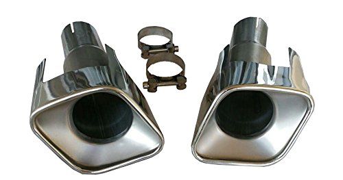 Rc Trading muffler tips Autobiography style fits Range Rover Sport (Tip Range)