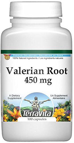 Valerian Root - 450 mg (100 Capsules, ZIN: 511260) - 3 Pack