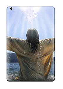 Ipad Mini Cases Covers - Slim Fit Tpu Protector Shock Absorbent Cases (jesus Baptism)