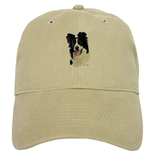 CafePress - Border Collie - Baseball Cap with Adjustable Closure, Unique Printed Baseball Hat