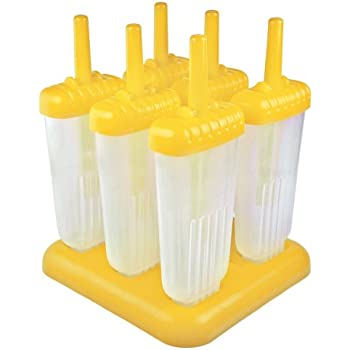 Tovolo Groovy Pop Molds - Yellow