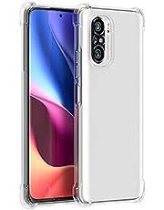Xiaomi Poco F3 Case, Mi 11i / Mi 11X Case, Redmi K40/ Redmi K40 Pro Silicone Case Transparent TPU Gorilla Anti-shock Shockproof Corners - Clear