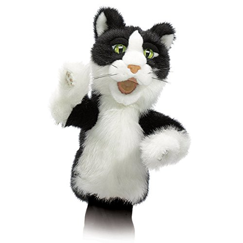 Folkmanis Tomcat Character Hand Puppet (Puppet Folkmanis Hand Cat)