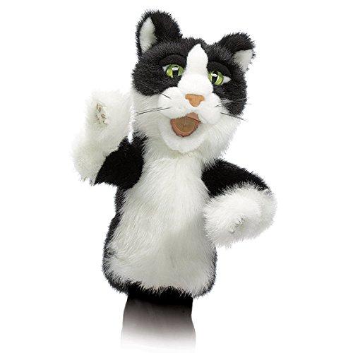 Folkmanis Tomcat Character Hand Puppet (Cat Folkmanis Puppet Hand)