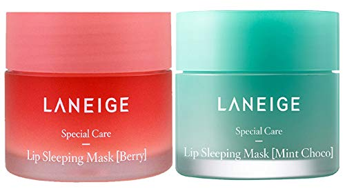 Laneige Lip Sleeping Mask (Berry 20g & Mint Choco 20g)