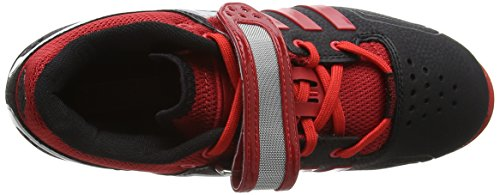 Adipower litht Multisport Scarlet Adidas black Mixte Chaussures Indoor Adulte Black PAqxvBRSwp